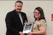 2016 Alan Goodenow Memorial Award for Outstanding Service goes to Tara Alexander