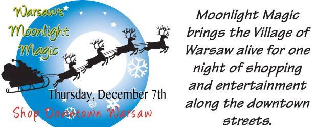 Moonlight Magic Thursday, December 7th