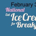 What do you think? Would you attend a Breakfast with Ice Cream?