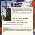 Early Bird Registration Hometown Heroes