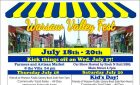 Warsaw's 7th Annual Valley Fest   July 18th,19th and 20th