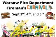 July 4th carnival is being postponed to labor day weekend due to the current COVID-19 epidemic