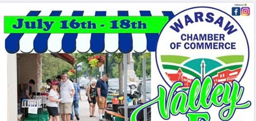 Valley Fest July 16th-18th